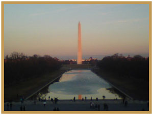 Washington Monument Reflective Pool